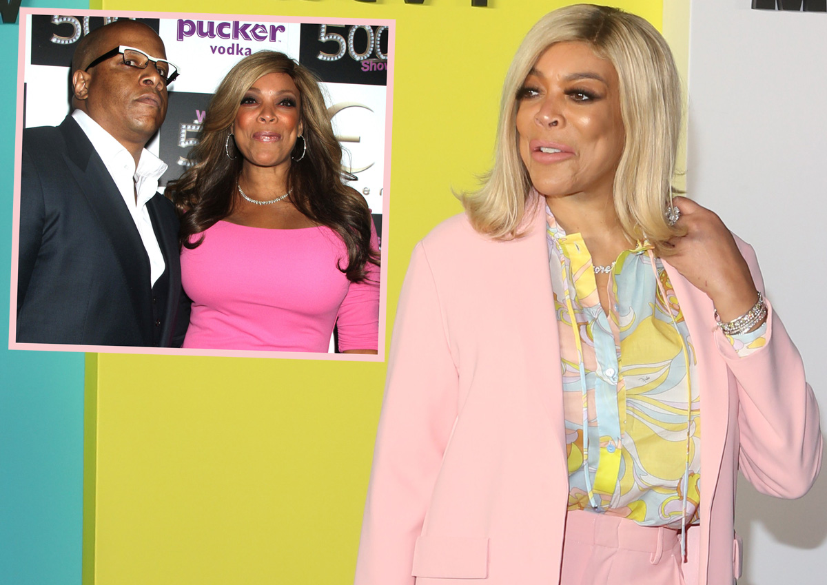 Wendy Williams' Ex Is Said To Be ENGAGED To Former Mistress As TV Host's Health Concerns Continue