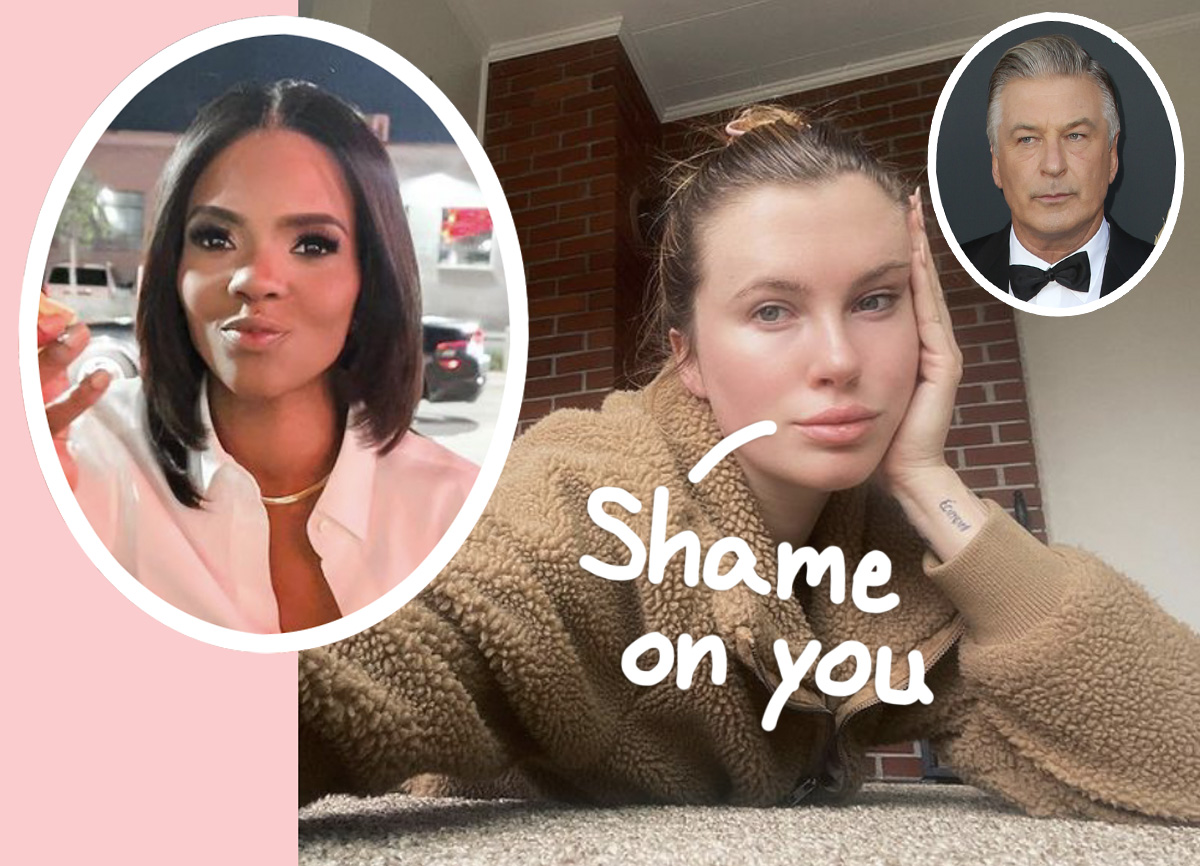 Ireland Baldwin SLAMS 'Hateful' Candace Owens Over Comments About Accidental Rust Shooting Death