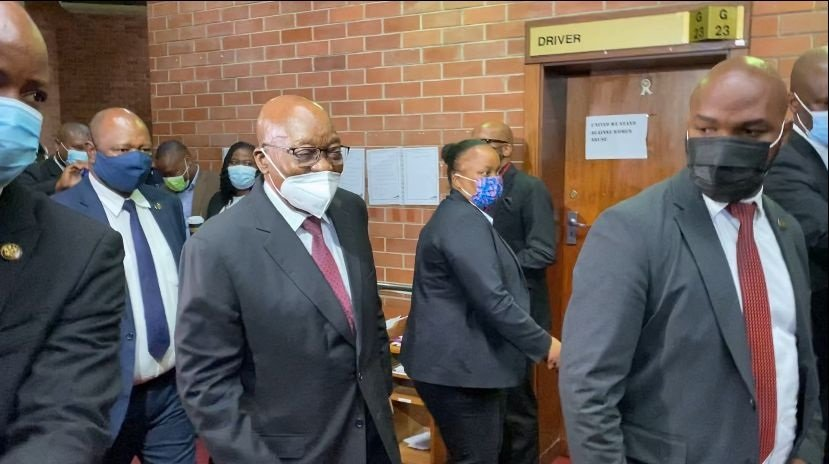 News24.com   Zuma fails to bar Downer from prosecuting him, corruption trial to proceed in April 2022